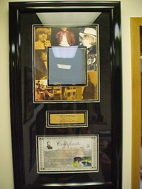Stonemalf S Collection Autographed Amp Framed