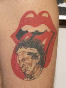 Resultado de imagen para rollings stones tatuajes